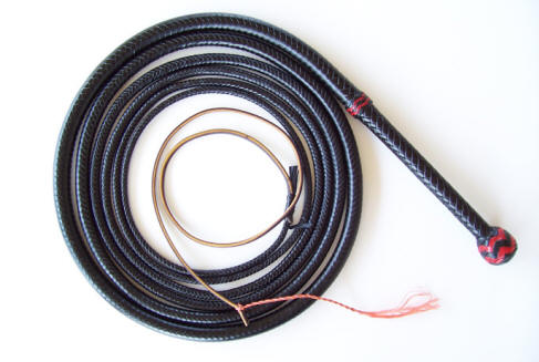 Bullwhip, 16 Foot Black LoneStar